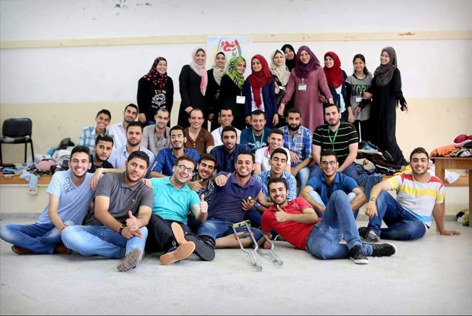 العمل التطوعي من غزة إلىغزة