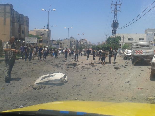 عن طرق الموت فيغزة
