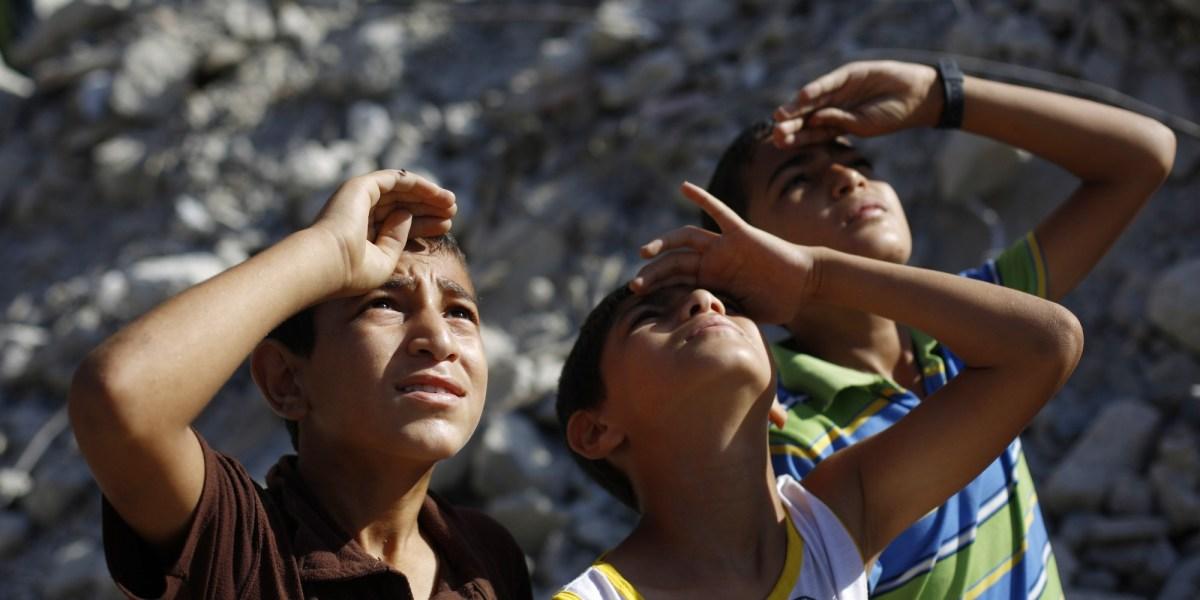 غزة .. الدراسة تعود كما الحرب!