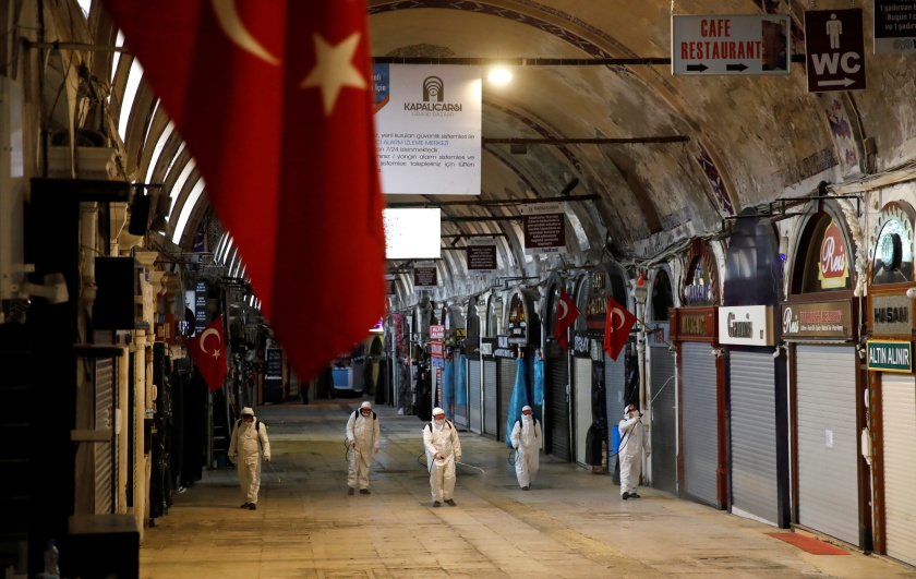 The spread of the coronavirus disease (COVID-19) in Istanbul